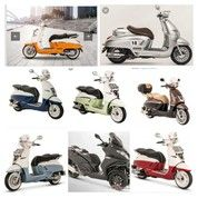 Type-Type Peugeot Scooter
