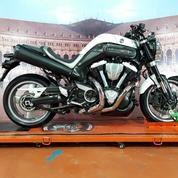 Yamaha MT-01 Bermesin Harley Davidson
