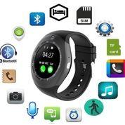 Smartwatch DZ11 / Jam Pintar Y1 Plus Kamera Bisa Tlp Sms Musik BARU