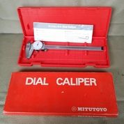 Mitutoyo Dial Caliper 200mm Alat Ukur