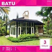 Villa Luas Di Klub Bunga Kota Batu Malang _ 748.18