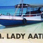 Kapal Layar Mesin GT 6 Khusus Wisata & Mancing
