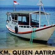 Kapal Kayu GT 5 Khusus Mancing Dan Wisata