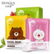 BIOAQUA ANIMAL FACIAL MASK - KUNING