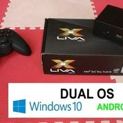 Mini Pc ECS Liva X - HDD 64GB Dan Ram 4GB - DUAL OS WIN10 And Android - Bonus Logitech Gamepad