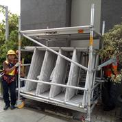 Alumunium Scaffolding Mobile Tower Instant Upright Bekasi