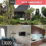 Villa Vimala Hills, Cluster Kilimanjaro, Bogor, 9x30m, 1 Lt, PPJB