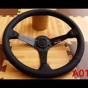 Stir Setir Steer ADS Racing Ukuran Besar Cekung Celong Kode A01