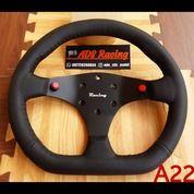 Stir Setir Steer ADS Racing Tombol Samping Ukuran Kecil Kode A22