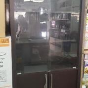 OBRAL Murah Almari Rak Kaca Clio 39001