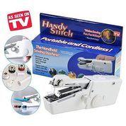 Handy Stitch Portable Handheld Sewing Machine Mesin Jahit Tangan Portable Perlengkapan Rumah Tangga