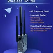 Industrial Grade 4G LTE VPN Router With Wireless