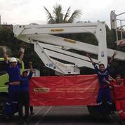 Truck Mounted Boom Lift P 200 A Bekasi
