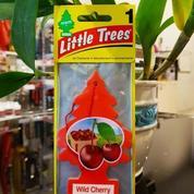 Parfum Mobil Little Trees Hanging Paper Aroma Wild Cherry
