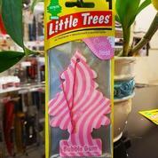 Parfum Mobil Little Trees Hanging Paper Aroma Bubble Gum
