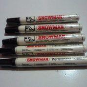 Spidol Permanent Marker Merk Snowman