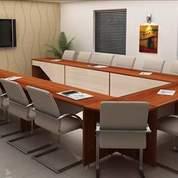 Meeting Table Multiplek Hpl Untuk Kantor Harga Murah