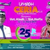 Umroh CERIA Plus BONUS Training Shalat Khusyu