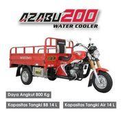 """Dipasarkan Motor Roda Tiga """"New Azabu WCR 200 """" Merk Nozomi"""
