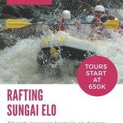 Voucher Rafting Sungai Elo