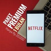 [TRUSTED] PROMO NETFLIX PAKET PREMIUM 1 BULAN