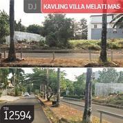 Kavling Villa Melati Mas, Tangerang, 16x25m, SHM