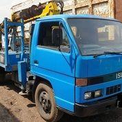 Truck Crane Bor Isuzu Model NPR 58