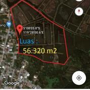 Lahan 5,6Ha Separuh Empang Dlm Kota.
