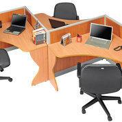 Partisi Kantor, Meja Kantor Dan Kursi Kantor