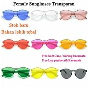 Kacamata Murah Retro Transparan