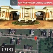 Kavling Aristoteles Gading Serpong , Tangerang, 24,4x30m, PPJB