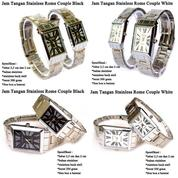 Jam Tangan Couple Rantai Import High Quality
