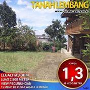 Tanah Siap Bangun Di Lembang.