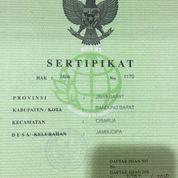 Tanah Di Jambudipa Cisarua Kabupaten Bandung Barat