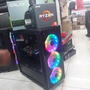 PC Rakitan Gaming Amd Ryzen 5 - VGA GTX 1060 6GB OC - Plus Monitor Bisa Cicilan Proses 3 Menit