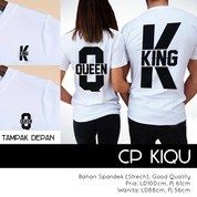 CL- Couple Kiqu Bahan Full Spandek Motif Sablon