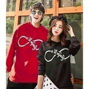 CL- Baju Couple Abadi Infinite Bahan Full Spandek (Allsize)