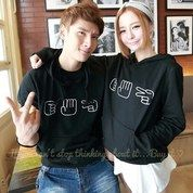 CL- Sweater Couple Gamsuit Bahan Full Babyterry