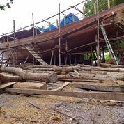 Terima Pesanan Pembuatan Kapal Phinisi Dari Kayu Hitam