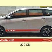 Sticker Cutting Sticker List Body Mobil Calya Keren