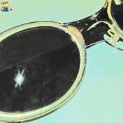 Kacamata Hitam Antik Uv Protection Pelindung Mata KV1955