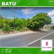 Tanah Poros Jalan Luas 812 Di Punten Selecta Kota Batu Malang _ 185.19