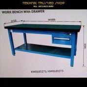 KRISBOW Work Bench Meja Kerja 4 Drawer Type 01B/Kw0103274/Best Peoduct