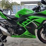 Motor Kawasaki Ninja Hijau Tahun 2014