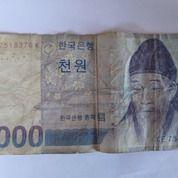 Uang Kuno Korea 1000 Won 1501- 1570
