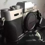 Mirrorless Fujifilm XT10 / XT-10 Body + Kit 15-50mm Silver + BONUS
