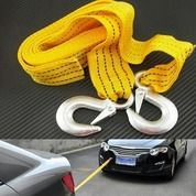 Tali Derek Mobil Towing Car Emergency Tow Rope 3 Meter 3 Ton Bengkel