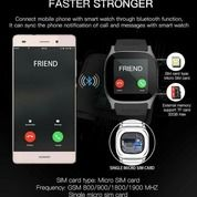 Smartwatch T8 Sim Card Jam Tangan Hp Smartwatch-Hitam