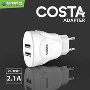 Hippo Costa Usb Adapter Charger 2.1A - Original Hippo Solo Micro