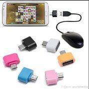 OTG Mini Micro USB Adapter Handphone Hp Smartphone On The Go Adaptor
